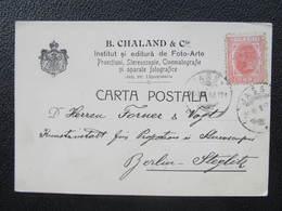 BRIEF Iasi Jassy Jasi Cinematografie B. Chaland 1907/// D*30911 - Briefe U. Dokumente