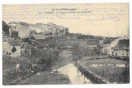 Cpa: 46 GRAMAT (ar. Gordon) Les Bords De L'Alzou Et La Haute Ville 1915  N° 641 - Gramat