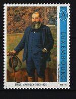 LUXEMBURG - Mi-Nr. 1389 - Emile Mayrisch Und Théo Van Rysselberghe Postfrisch - Ungebraucht