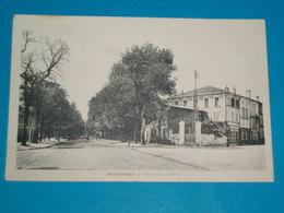 16 ) Barbezieux - Boulevard Chanzy  : Année  : EDIT : Boisgencier - France