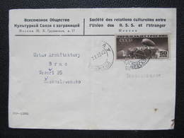 BRIEF Zeppelin 1938 Moskau - Brno   /// D*30916 - 1923-1991 USSR