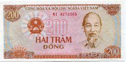 VIET NAM BILLET NEUF DE 200 DONG DE 1987 (Pick 100) - Vietnam