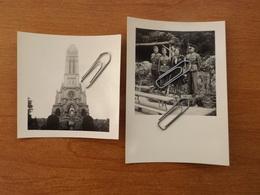 WW2 GUERRE 39 45 SOLDATS ALLEMANDS HEROUVILLE SAINT CLAIR PETIT LOURDES CAEN VUE PARC ET EGLISE VOIR SCANS - Herouville Saint Clair