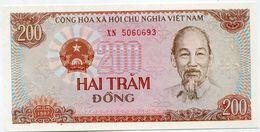 VIET NAM BILLET NEUF DE 200 DONG DE 1987 - Viêt-Nam