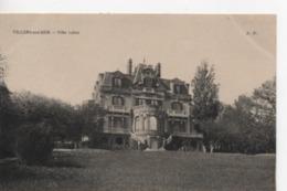 Cpa.14.Villers Sur Mer.1908.Villa Leleu. Animé Personnages - Saint Aubin