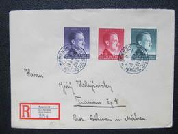 R-BRIEF General Gouvernement Kamiensk Petrikau - Turnov 1943  /// D*30925 - Deutschland