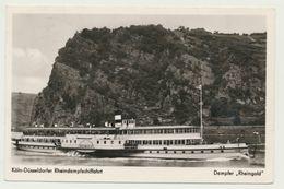 AK  Dampfer Rheingold Köln Düsseldorfer Dampfschiffahrt - Paquebots