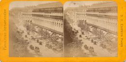 PHOTO STEREOSCOPIQUE - PARIS -   Vues Instantanées -  Boulevard  Des Capucines Et Grand Hotel - Stereo-Photographie