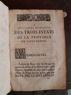 INSTRUCTION POUR Le Franc-alleu De La Province Du LANGUEDOC Establi Et Defendu - Before 18th Century