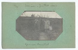 ILLIERS (28) - Juillet 1930 - Photo 8.8 X 5.2 Cm Sur Son Support En Carton - Lugares