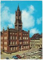 Kamenz/Kamjenc: WARTBURG 353 & TOURIST, TRABANT 601 & UNIVERSAL, SKODA 100,  MOSKVITCH 1500 - Rathaus - (DDR) - Passenger Cars