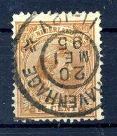 1891-97 OLANDA N.39 USATO - Periodo 1891 – 1948 (Wilhelmina)