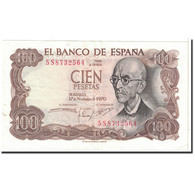 Billet, Espagne, 100 Pesetas, 1970, 1970-11-17, KM:152a, SPL - [ 3] 1936-1975 : Regency Of Franco