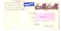Afrique Lettre Enveloppe 022, RSA Afrique Du Sud, Old Legislative Assembly Building - Afrique Du Sud (1961-...)