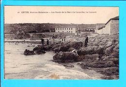 Cpa  Cartes Postales Ancienne - Sete Cette Bords De La Mer - Sete (Cette)