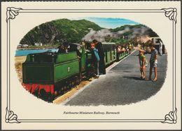 Fairbourne Miniature Railway, Barmouth - Colourmaster Postcard - Trains