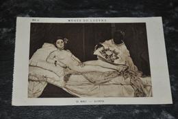 1523    Musée Du Louvre   Manet   Olympia - Arts