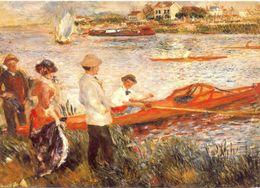 Auguste Renoir - Ruderer Bei Chatou - 1879 - Ecrite, Timbrée - 5320 - Pintura & Cuadros