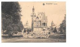 Brasschaat 1927, Torenhof, Kasteel. Achteraan Met Postzegel Gestempeld 1927, Foto René Peeters Wuestwezel - Brasschaat