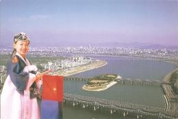 KR - Welcome To Seoul (Opening Seoul, Han River) -  Ici Est Seoul, La Capitale De La Corée Du Sud (circ. 2002) - Korea (Süd)