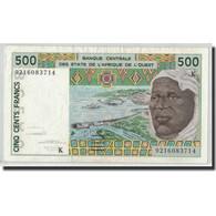 Billet, West African States, 500 Francs, 1992, KM:710Kb, SUP - Estados De Africa Occidental