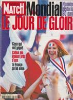 PARIS MATCH 2533 Du 23 JUILLET 1998 COUPE DU MONDE DE FOOTBALL / LE JOUR DE GLOIRE DU MONDIAL - Zeitungen
