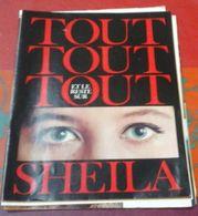 Tout Tout Tout Sur Sheila 33 Pages Sur Sheila Issues D'un Magazine Salut Les Copains - Music