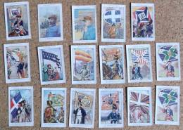 Lot De 17 Images - Bozon Verduraz - Trade Cards