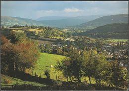 Aberhonddu A Dyffryn Afon Wysg, Sir Frycheiniog, C.1990 - Abacus Postcard - Breconshire