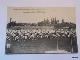 LANGON-Journées Des Patronages Catholiques De La Gironde-Ensembles Généraux- - Langon