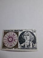 Timbre France 1974 - Oblitéré - Y.TN° 1818 - Nicolas Copernic - France