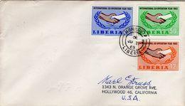 LIBERIA  -  1965 The 20th Anniversary Of The United Nations   FDC4259 - Liberia