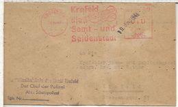 ALEMANIA KREFELD 1948 TEXTIL SEDA TERICIOPELO VELVET SILK - Textiles