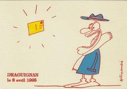 CPM Apparition D'une Carte Postale Draguignan 1995 - Filipandre