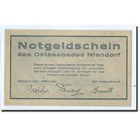 Billet, Allemagne, Niendorf, 25 Pfennig, Paysage, 1921, 1921-03-01, SPL - Germany