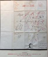 1848 DRIEBERGEN (Utrecht Netherlands) Cover > CHUR (GR) Schweiz (Zürich Prephilately Vorphilatelie Brief Baden Lettre - ...-1852 Voorlopers