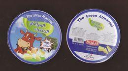 AC -  THE GREEN ALMARAEI TRIANGLE TRIANGULAR CREAM CHEESE EMPTY BOX - Cheese