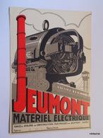 Matériel électrique JEUMONT - Pubblicitari