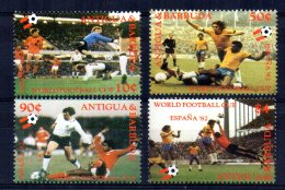 Antigua & Barbuda - 1982 - Football World Cup - MNH - Antigua Et Barbuda (1981-...)