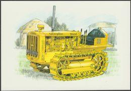 Caterpillar D2 Track-Type Tractor - Golden Era Postcard - Postcards