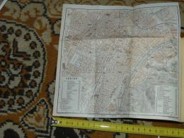 Torino Italy Map Karte Mappa 1930 - Geographical Maps
