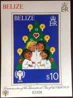 Belize 1980 Year Of The Child Minisheet MNH - Belize (1973-...)