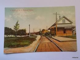 E.Wakefield-N.H.Railroad Station - Etats-Unis
