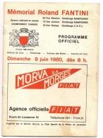 CLUB SPORTIF POLICE DE LAUSANNE - PROVA NAZIONALE DI MARCIA - MEMORIAL FANTINI R - FIAT - GAULOISES - Programmi