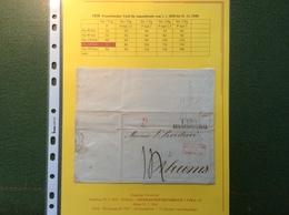 1834 HAMBURG (Thurn Und Taxis)cover > Rheims Roederer Champagne FRANCE  (Forbach Prephilately Vorphilatelie Brief Lettre - Hamburg (Amburgo)