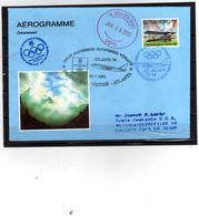 015-SLOVAKIA 1996- OLYMPIC GAMES 1996 -AEROGRAM - Ganzsachen