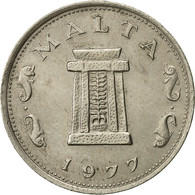 Malte, 5 Cents, 1977, British Royal Mint, TTB, Copper-nickel, KM:10 - Malta