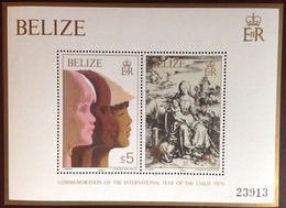 Belize 1980 Year Of The Child 1st Durer Minisheet MNH - Belize (1973-...)