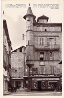 COMMERCE Magasin Boutique - 46 - FIGEAC : Maison SISTERON ( Chapellerie HERPIN - MODES ) Jolie CPSM Photo PF - Lot - Winkels