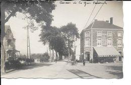 Paliseul - Photo Carte Epreuve - Avenue De La Gare - Hôtel-Café: Baba Willaime - Bière Artois - Tricycle - Paliseul